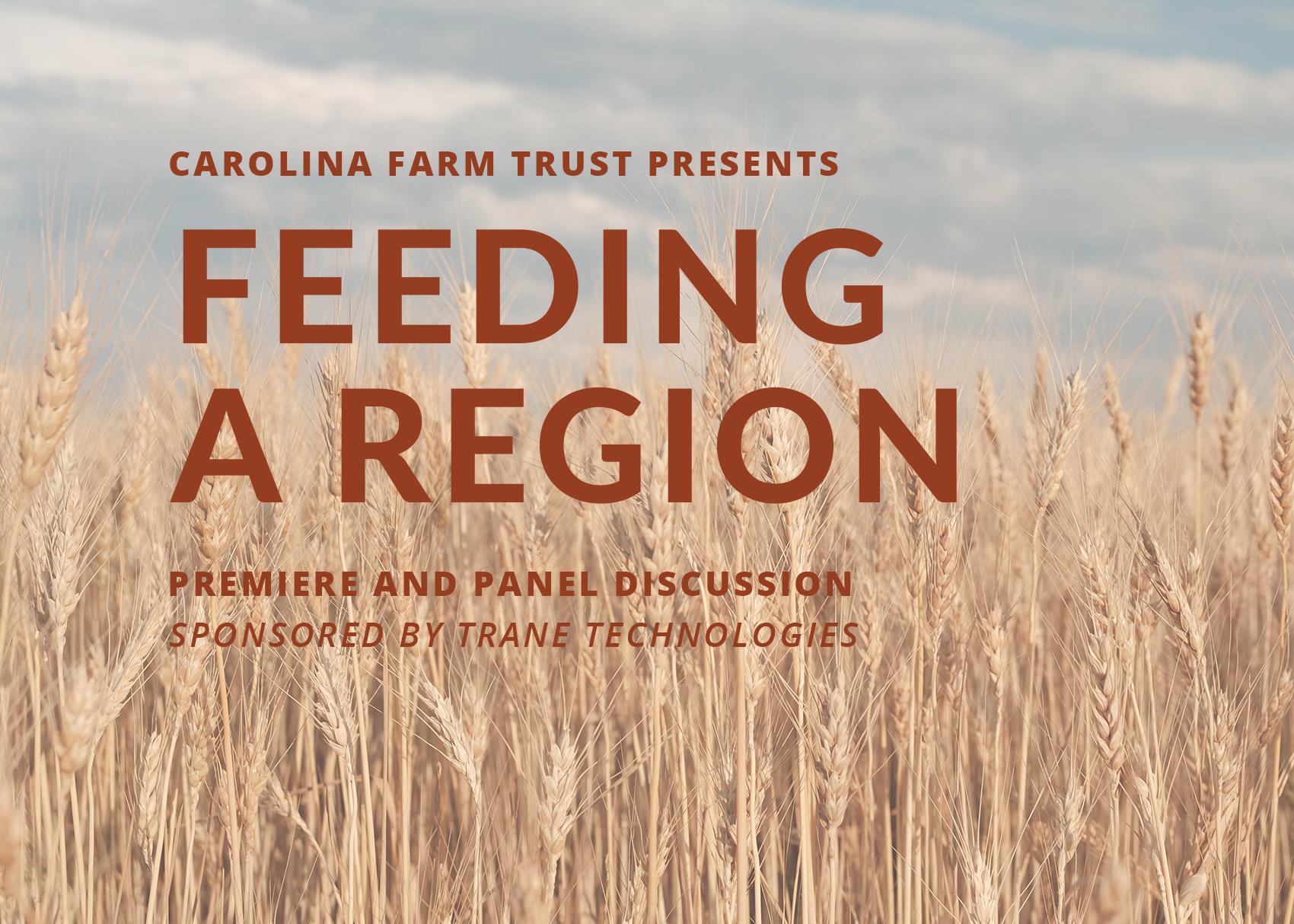Feeding a Region Premiere